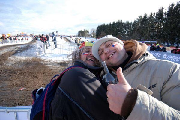 MS Cyklokros Tábor 2010: fanoušci, atmosféra