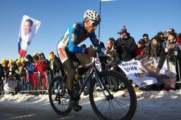 Mistrovství světa v cyklokrosu - Tábor 31.1. 2010, závod Elite - Martin Zlámalík
