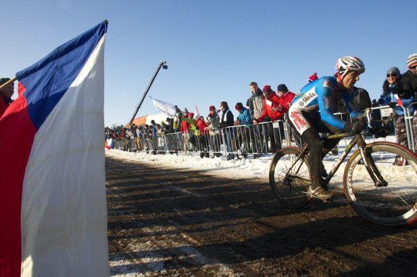 Mistrovství světa v cyklokrosu - Tábor 31.1. 2010, závod Elite - Martin Bína