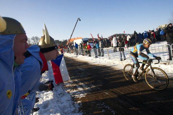 Mistrovství světa v cyklokrosu - Tábor 31.1. 2010, závod Elite - Erwin Vervecken