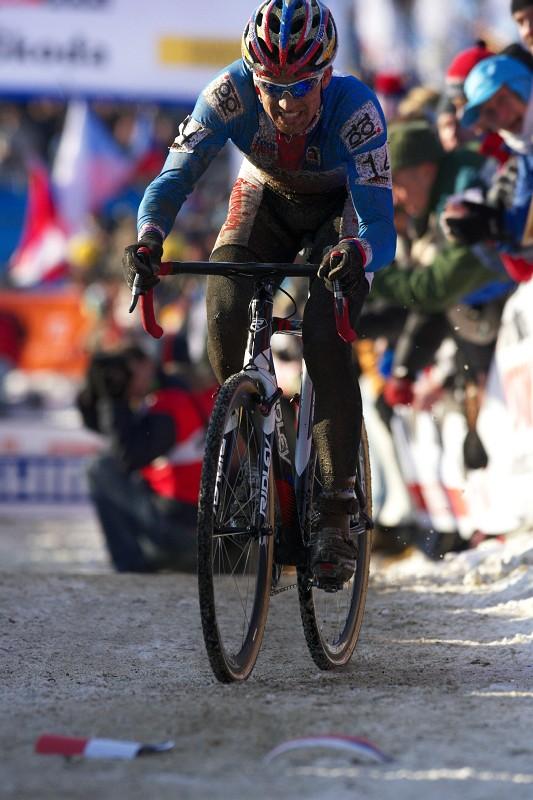 Mistrovství světa v cyklokrosu - Tábor 31.1. 2010, závod Elite - Zdeněk Štybar