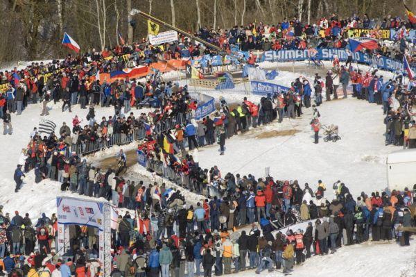 Mistrovství světa v cyklokrosu, Tábor 2010 - Elite: Zdeněk Štybar mezi špalíry diváků