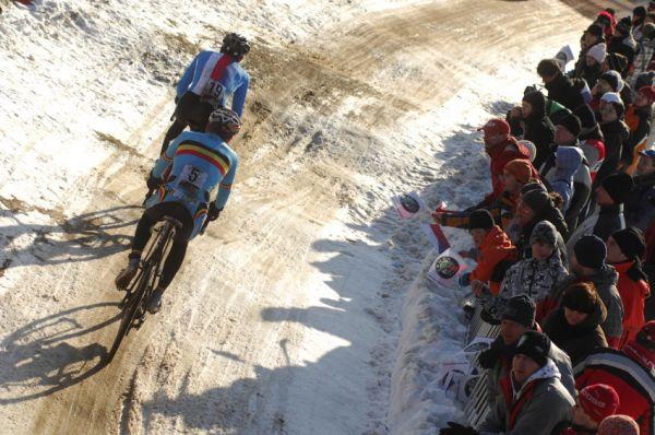 Mistrovství světa v cyklokrosu, Tábor 2010 - Elite: Česko vs. Belgie