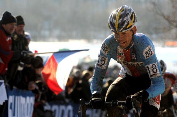 Mistrovství světa v cyklokrosu, Tábor 2010 - Elite: Petr Dlask