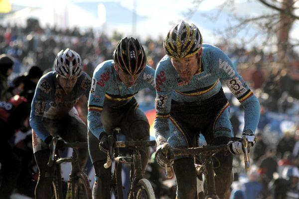 Mistrovství světa v cyklokrosu, Tábor 2010 - Elite: Vantornout, Nijs, Bína