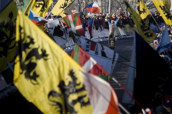 Mistrovství světa v cyklokrosu, Tábor 2010 - Elite: Zdeněk Štybar slaví