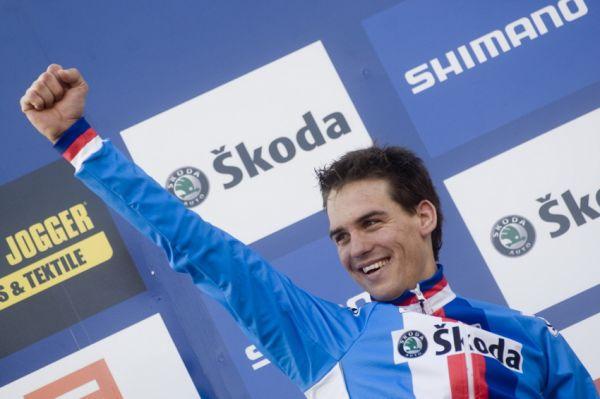 Mistrovství světa v cyklokrosu, Tábor 2010 - Elite: šampion Zdeněk Štybar