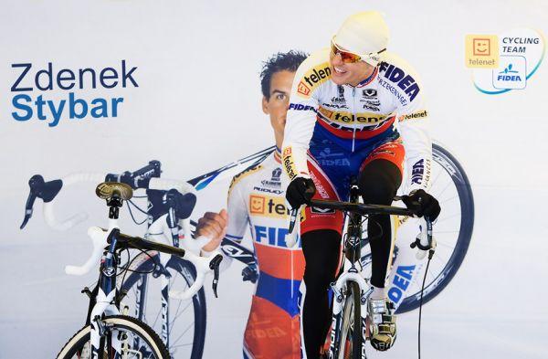 Mistrovství světa v cyklokrosu, Tábor 2010 - Elite: Zdeněk Štybar byl před startem v dobré náladě
