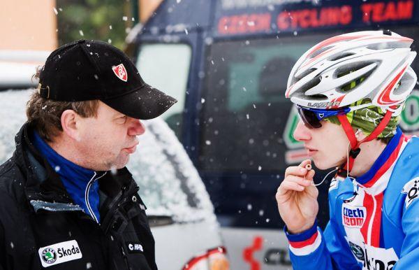 Mistrovství světa v cyklokrosu, Tábor 2010 - Elite: u Bambulů se rozdávaly poslední rady před startem