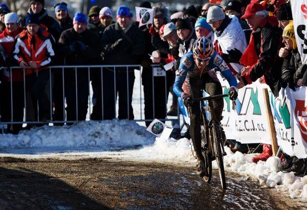 Mistrovství světa v cyklokrosu, Tábor 2010 - Elite: nasazení Zdeňka Štybara bylo obrovské...