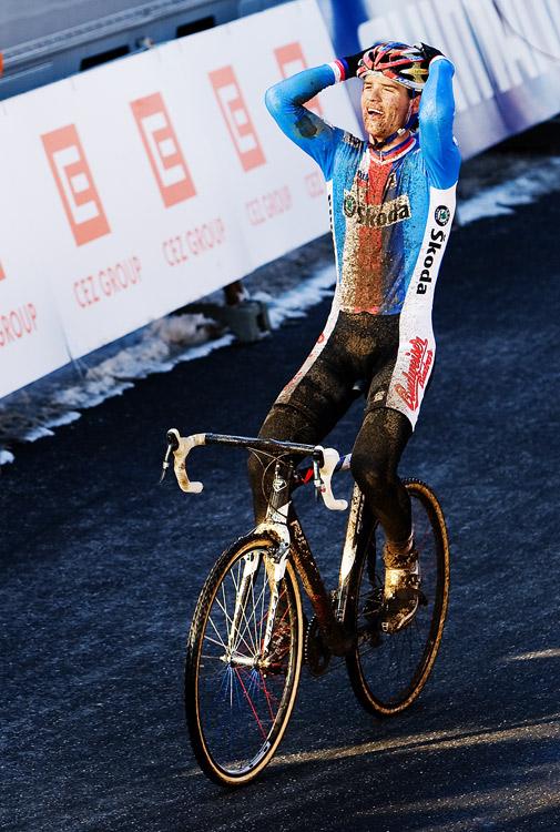 Mistrovství světa v cyklokrosu, Tábor 2010 - Elite: sen se stal skutečností - Zdeněk Štybar vítězí!