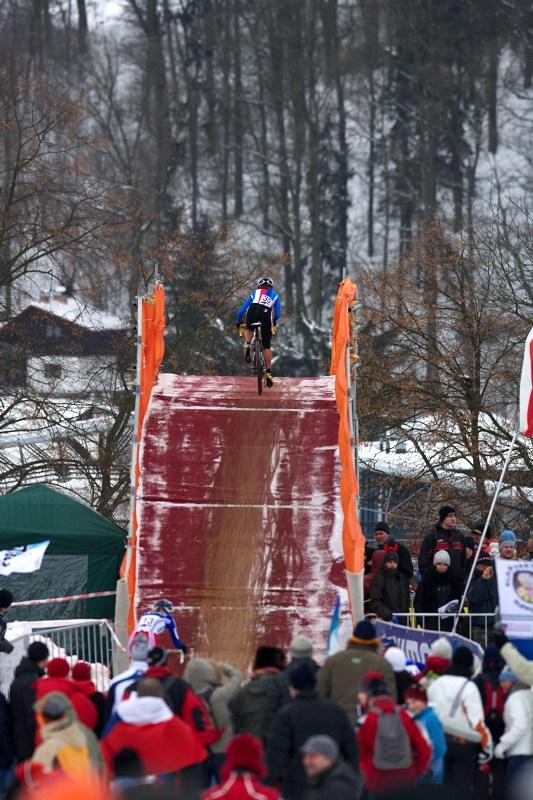 Mistrovství světa v cyklokrosu - Tábor 31.1. 2010 - závod žen