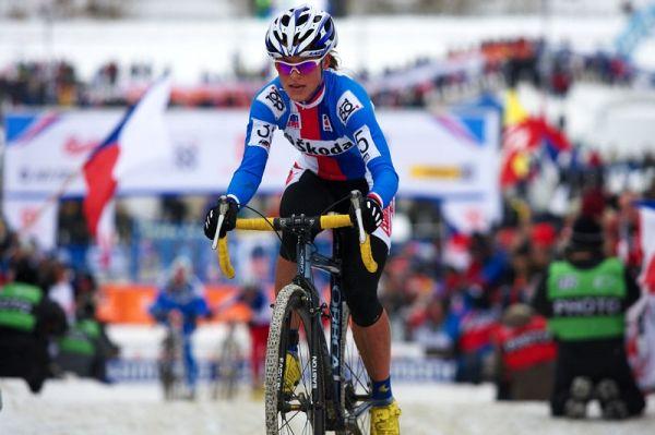 Mistrovství světa v cyklokrosu - Tábor 31.1. 2010 - závod žen - Kateřina Nash