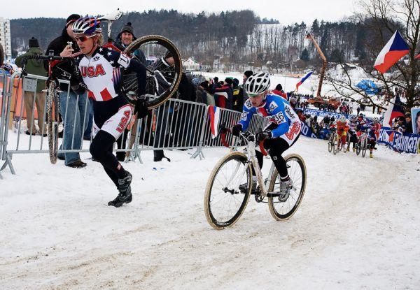 Mistrovství světa v cyklokrosu, Tábor 2010 - ženy: Pavla Havlíková v sedle