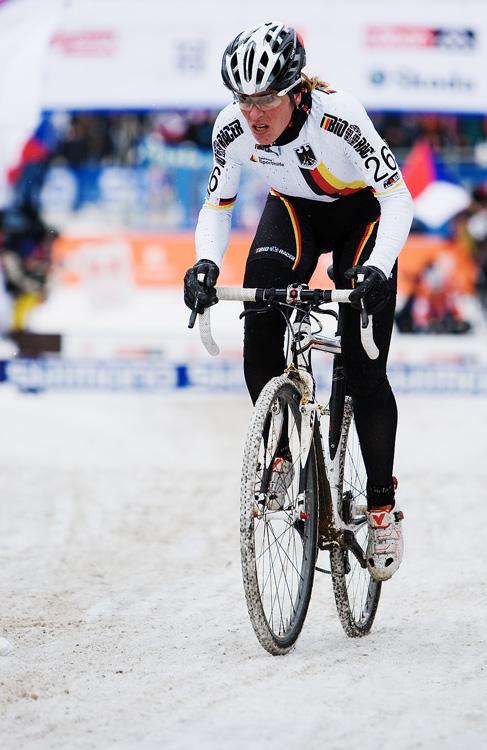 Mistrovství světa v cyklokrosu, Tábor 2010 - ženy: Hanka Kupfernagel (GER)