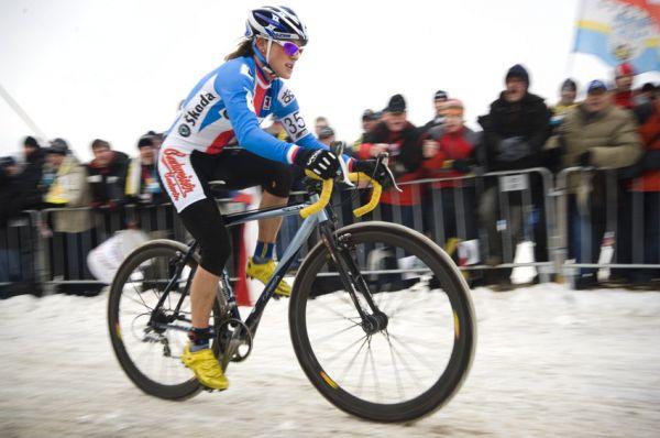 Mistrovství světa v cyklokrosu, Tábor 2010 - ženy: Kateřina Nash