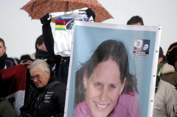 Mistrovství světa v cyklokrosu, Tábor 2010 - ženy: Kateřina Nash skončila čtvrtá