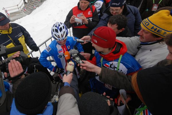 Mistrovství světa v cyklokrosu, Tábor 2010 - ženy: tlak médií byl velký