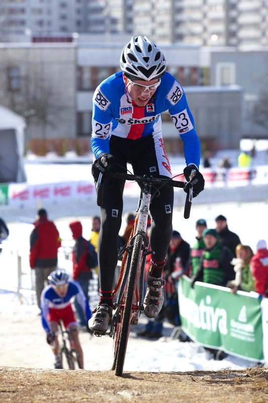 Mistrovství světa v cyklokrosu - Tábor 30.1. 2010 - Matěj Lasák