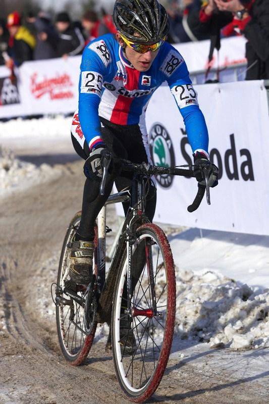 Mistrovství světa v cyklokrosu - Tábor 30.1. 2010 - Tomáš Paprstka