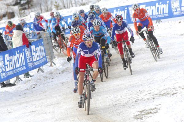 Mistrovství světa v cyklokrosu, Tábor 2010 - junioři & U23: start juniorů