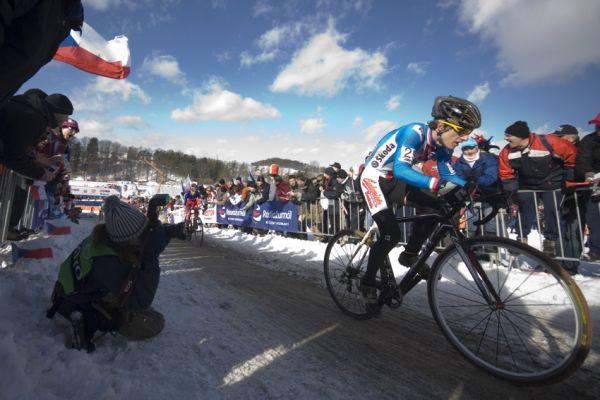 Mistrovství světa v cyklokrosu, Tábor 2010 - junioři & U23: Tomáš Paprstka