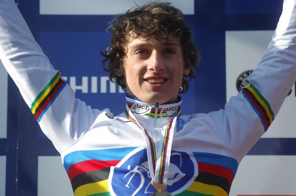 Mistrovství světa v cyklokrosu, Tábor 2010 - junioři & U23: Tomáš Paprstka mistrem světa