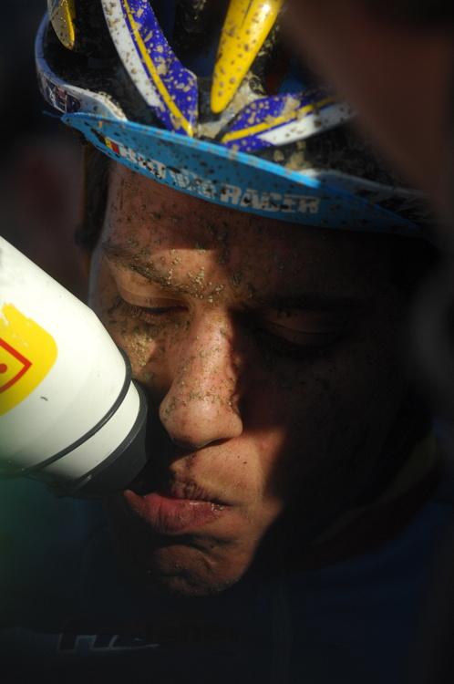 Mistrovství světa v cyklokrosu, Tábor 2010 - junioři & U23: Tom Meeusen bez medaile