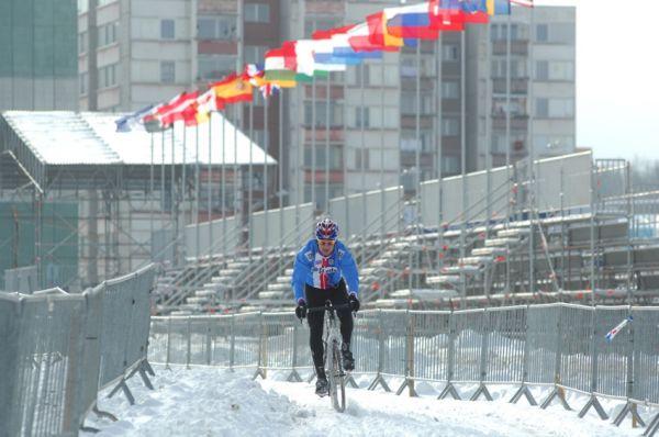 Cyklokrosové MS v Táboře 2010 - čtvrtek: Zdeněk Štybar sám na trati
