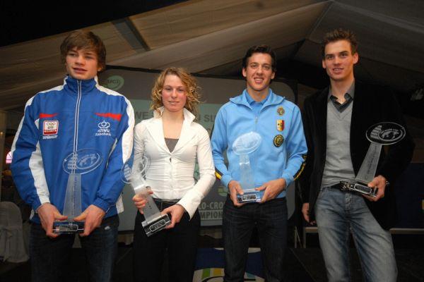 Cyklokrosové MS v Táboře 2010 - čtvrtek: Vyhlášení Světového poháru