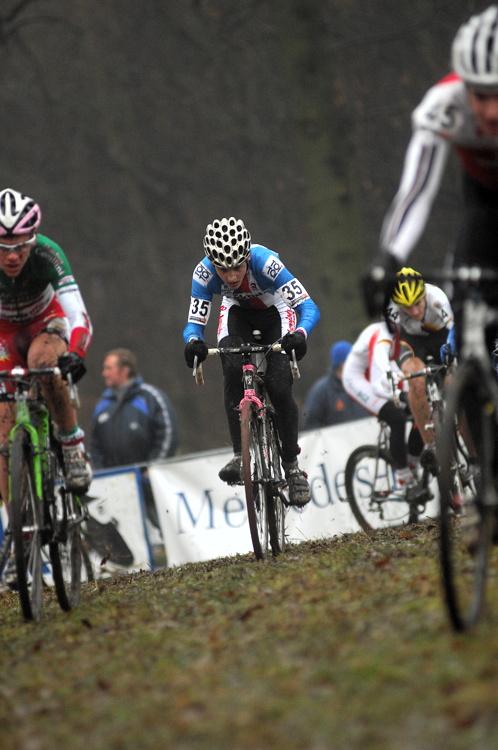 SP cyklokrosa�� Hoogerheide 2010 - junio�i & U23: Tom� Medek