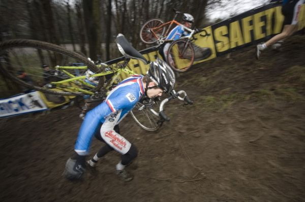 SP cyklokrosařů Hoogerheide 2010 - junioři & U23: Radek Polnický