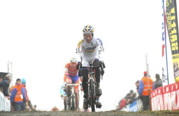 SP cyklokrosa�� Hoogerheide 2010 - junio�i & U23: Tom Meeusen