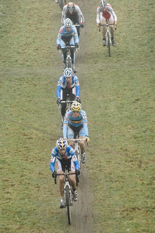 SP cyklokrosa�� Hoogerheide 2010 - junio�i & U23:
