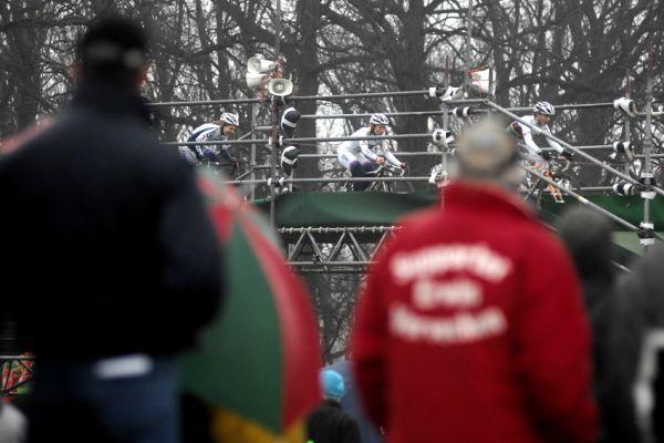 Světový pohár v cyklokrosu #9, Hoogerheide 2010: čelo závodu žen