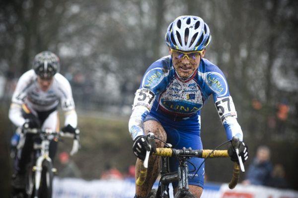 Světový pohár v cyklokrosu #9, Hoogerheide 2010: Kateřina Nash dojížděla ztrátu po pádu