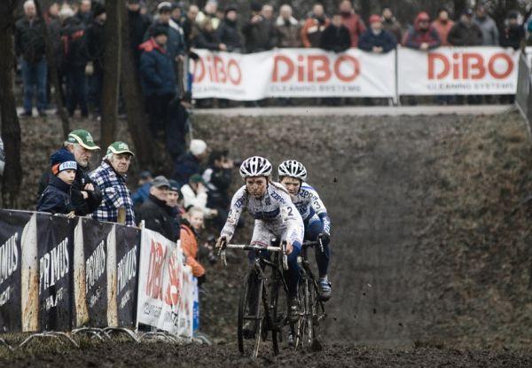 Světový pohár v cyklokrosu #9, Hoogerheide 2010: boj o stříbro mezi Van Den Brand a Van Passen