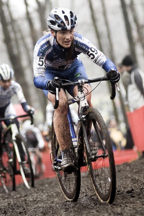 Světový pohár v cyklokrosu #9, Hoogerheide 2010: Jana Kyptová