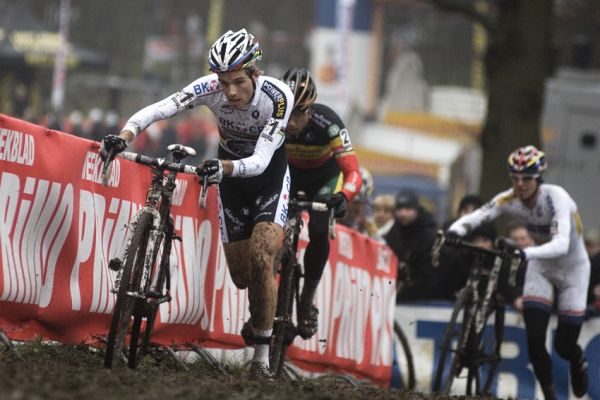 Sv�tov� poh�r v cyklokrosu #9, Hoogerheide 2010: Klasick� vedouc� trojice Albert, Nijs, �tybar