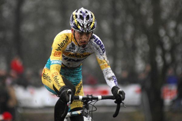 Světový pohár v cyklokrosu #9, Hoogerheide 2010: na třetí místo se dostal Kevin Pauwels