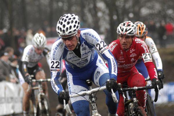 Sv�tov� poh�r v cyklokrosu #9, Hoogerheide 2010: Martin Zl�mal�k a Martin B�na