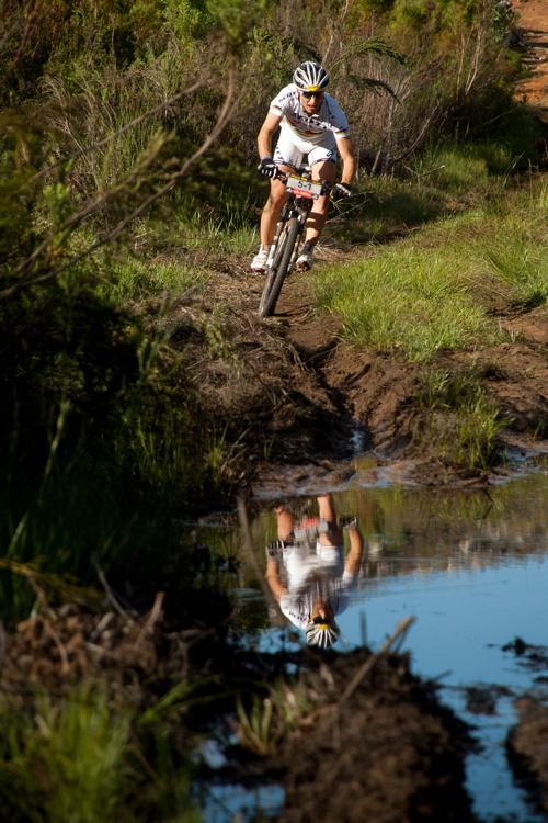 ABSA Cape Epic 2010 - 8. etapa: Nino Schurter