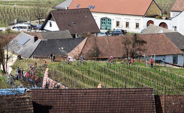 Kamptal Klassik Trophy 2010: vesnička Zöbling, vinice a bikeři...