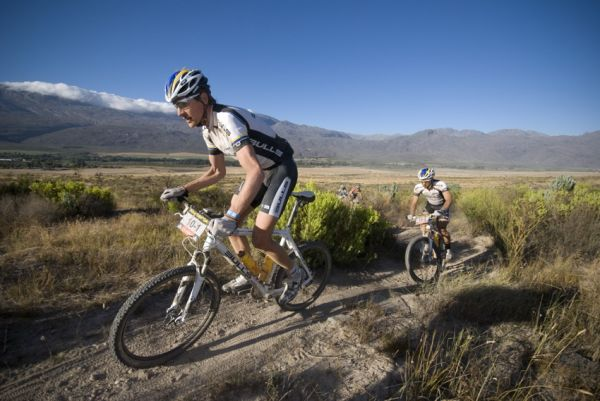 ABSA Cape Epic 2010 - 2. etapa: Thomas Dietsch a Tim Bohme