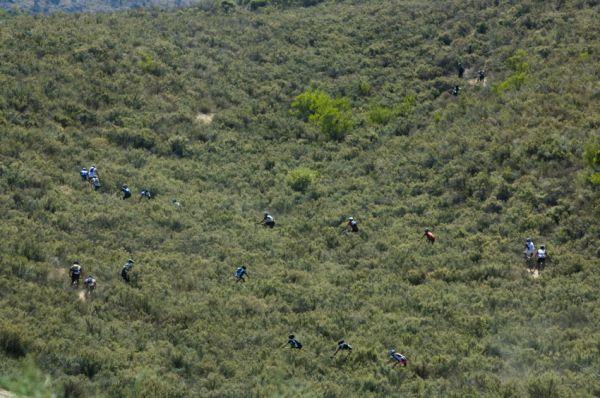 ABSA Cape Epic 2010 - 2. etapa: většina trati vedla po silngletracích