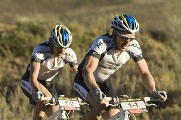 ABSA Cape Epic 2010 - 3.etapa: Karl Platt a Stefan Sahm