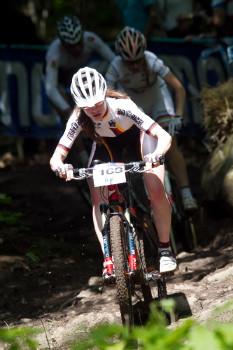 Johanna Techt v souboji s Pauline Prevot