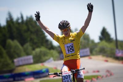 Tomáš Paprstka vítězí