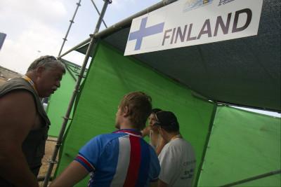 Tereza Huříková si pro rozjíždění vybrala finskou kóji