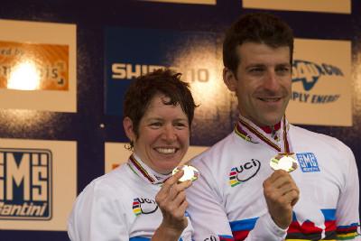 Ester Suss a Alban Lakata mistry světa v maratonu 2010